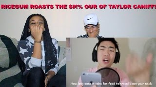 Download Couple Reacts : ″Taylor Caniff Gets Me Banned!!″ by RiceGum Reaction!!! Video