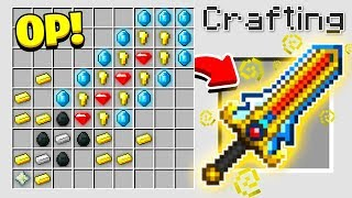 Download HOW TO CRAFT A $1,000,000 SWORD! *OVERPOWERED* (Minecraft 1.13 Crafting Recipe) Video