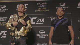 Download UFC 218: Holloway vs Aldo 2 - Media Day Faceoffs Video