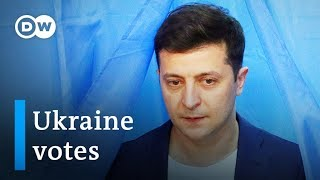Download Ukraine election 2019: The role of the war in Donbass   DW News Video