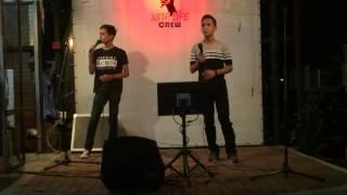 Download Ku Rela Dibenci Aiman Tino ft Haziq Putera Band Live show Video