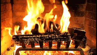 Download Traditional Christmas Carols with a Log Fire Video