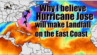 Download Hurricane Jose will make Landfall on East Coast & Why I believe that. Video