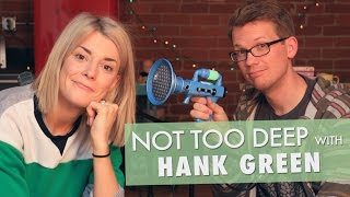 Download HANK GREEN IS A BAD FRIEND? // Grace Helbig Video