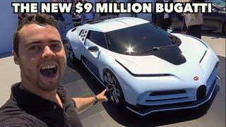 Download MEET THE $9 MILLION BUGATTI CENTODIECI - THE FASTEST BUGATTI EVER! Video