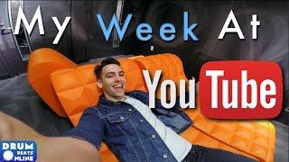 Download My Week At YouTube Space NYC - NextUp Vlog | Drum Beats Online Video