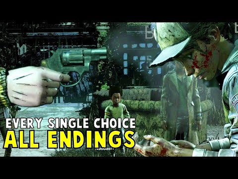 All Endings - Every Single Choice - The Walking Dead The Final Season