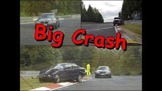 Download Big crash BMW Nürburgring Nordschleife Video