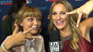 Download Grace VanderWaal Beatboxes Backstage! (SO CUTE!) Video