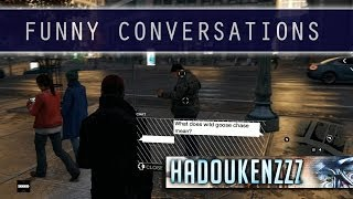 Download Watch Dogs - FUNNY CONVERSATIONS Video
