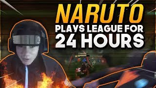 Download Shiphtur | NARUTO PLAYS LEAGUE FOR 24 HOURS!!! Video