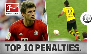 Download Top 10 Penalty Moments in Bundesliga History - Aubameyang, Müller and More Spectacular Spot Kicks! Video
