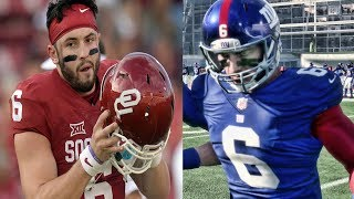 Download BAKER MAYFIELD GETS DRAFTED INTO THE NFL | MADDEN 18 CAREER MODE EPISODE 1 Video