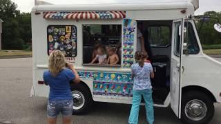 Download Ice cream truck visits Carter's neighboorhood Video