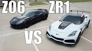 Download PULLS BETWEEN A STOCK M7 Z06 vs STOCK A8 ZR1 YOU MAY BE SURPRISED!! | SHOULD YOU BUY A ZR1?? Video