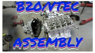 Download INTEGRA B20/VTEC ASSEMBLY! HSG EP.4-35 Video