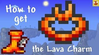 Download Terraria: How to get the Lava Charm and Lava Waders Video