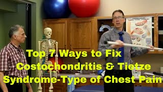 Download Top 7 Ways To Fix Most Costochondritis & Tietze Syndrome-Chest Pain (Exercises & Treatments) Video