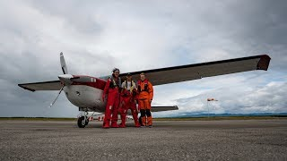 Download Crossing the Atlantic Ocean in a Cessna Video