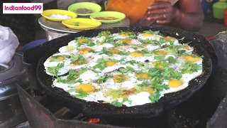 Download Queen Of Fried Eggs - Amazing fried eggs prepared by Indian street food vendor Video