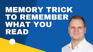 Download Simple Memory Tricks to Remember What You Read Video