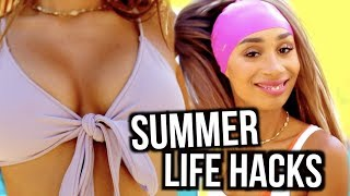Download 5 Summer Life Hacks That WILL SAVE YOU! | Mylifeaseva Video