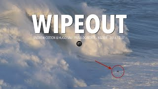 Download British Big Wave Surfer's Wipeout and Jet ski capsized in Nazaré, Portugal Video