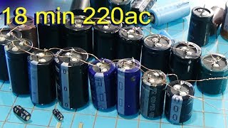 Download How To Make Capacitor Bank For Free Energy lighted the led Video