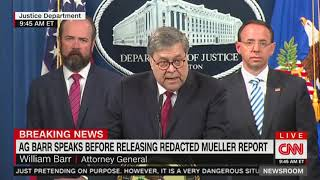 Download Barr claims White House 'cooperated fully' with Mueller probe Video