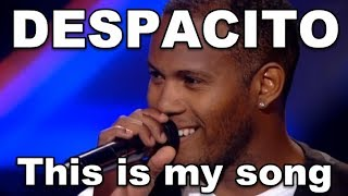 Download DESPACITO VOICE, DESPACITO X Factor MIND BLOWING FUN! Luis Fonsi - DESPACITO Covers, Daddy Yankee Video