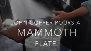 Download John Coffer Pours a Mammoth Plate Video