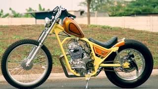 Download Tampil Cantik Modifikasi Yamaha Scorpio Custom Chopper Japan Style Video