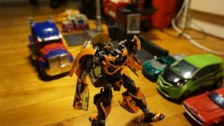 Download An Autobot's Life Ep1: Bee's Emotions. TF4 stop-motion Video