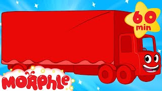 Download My Magic Truck (+1 hour My Magic Pet Morphle episodes with vehicles) Trucks for kids Video