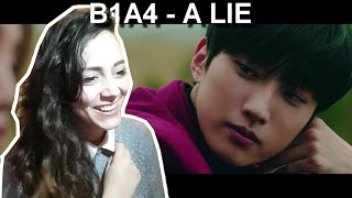 Download [ MV REACTION ] B1A4 - A lie(거짓말이야) Video
