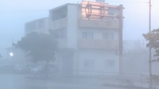 Download Super Typhoon Jelawat Stock Footage Screener Okinawa Japan - HD 1920x1080 30p Video