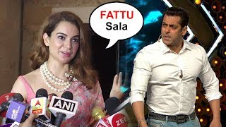 Download Kangana Ranaut Makes FUN Of Salman Khan For Being SCARED Of Speaking Against PM Modi's Party Video