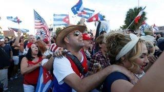 Download Cuban exile community in Miami reacts to Fidel Castro death Video