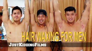 Download Hair Waxing for Men Video