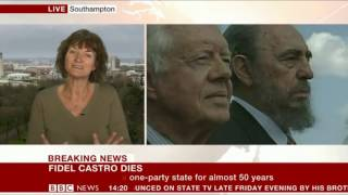 Download Dr Denise Baden battles with the establishment view of Fidel Castro at the BBC Video