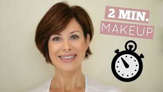Download Out The Door In 2 Minutes Makeup Routine! Video