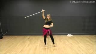 Download Sarasvati Dance Double Stick Saidi Practise. Video