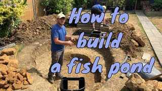 Download How to build a pond - fish pond uk - how to make a pond Video