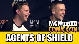Download Agents of SHIELD MCM London Comic Con Panel - Iain De Caestecker & Nick Blood Video