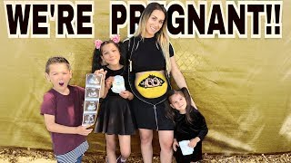 Download WE'RE 5 MONTHS PREGNANT (KIDS ARE IN SHOCK) !!   Familia Diamond Video
