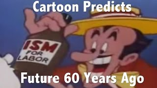 Download Cartoon predicts the future more than 60 years ago. This is amazing insight! Video
