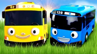 Download Tayo The Little Bus Toys. 타요 도로놀이 장난감 Racetrack. Toy Cars and Buses for kids. Video