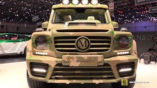 Download 2015 Mercedes-Benz G-Class G65 AMG - Mansory Sahara Edition - Walkaround-2015 Geneva Motor Show Video