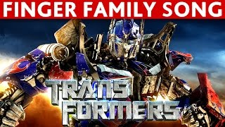Download Finger Family TRANSFORMERS Finger Family NURSURY RHYMES song Video