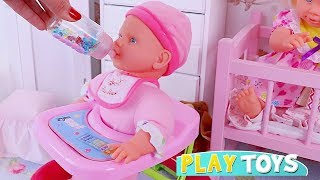 Download Pretend Play with Baby Dolls and Toys for Kids! 🎀 Video